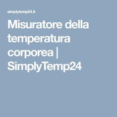 Misuratore della temperatura corporea   SimplyTemp24