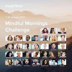 Heres a special way to start the new year. Our friends at @insighttimer have created a free Mindful Mornings Challenge from January 1-31. Each day youll be guided through a 10-minute #meditation from a different teacher (including me on January 22). Set a daily reminder in your calendar to join me and almost 50000 other meditators from around the world start your day in an intentional way. Sign up for the Mindful Mornings Challenge via the link in my bio. @sarahfinds @davidjimeditation @ Free Guided Meditation, Meditation Apps, Morning Meditation, Jack Kornfield, Wim Hof, January 1, Daily Reminder, Insight, Challenges