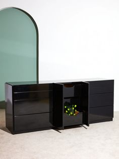 Black Lacquered Credenza – Coming Soon