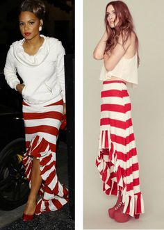 Women maxi skirt hilow ruffled by LysaBo on Etsy, $45.99