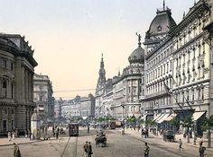 Ring Street, Budapest, Hungary, Austro-Hungary