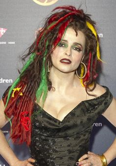 this is my favorite picture of her ever. I love her hair/dreads, and the color.