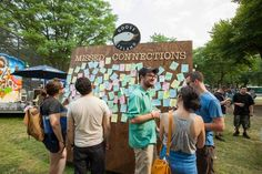 """The independent music festival in Chicago featured clever brand activations from live screen-printing to a """"missed connections"""" board. The Pitchfork Music Festival took place in Chicago's Union Park July 18 to 20."""