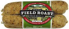 Field Roast,  Vegetarian Grain Meat Sausages, Smoked Apple Sage , 12.95 oz (Frozen)