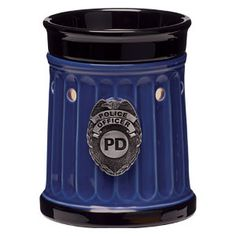 Police Officer candle warmer