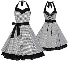 site>>PANDORA Jewelry Online Shop More than off! Pin Up Outfits, Mode Outfits, Pretty Outfits, Pretty Dresses, Beautiful Dresses, Dress Outfits, Fashion Dresses, Dress Up, Rockabilly Fashion