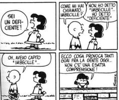 Incomprensioni😊 Snoopy Comics, Peanuts Comics, Lucy Van Pelt, Charlie Brown And Snoopy, Peanuts Snoopy, Calvin And Hobbes, Life Is Like, Cartoon, Learning