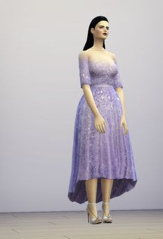 Sims 4 CC's - The Best: Dress by RustyNail