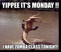 Zumba Mondays can be fun days. Get your energy level up and running for summer…