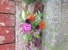 A bouquet from grandma's garden