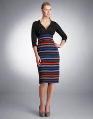 Stripe Skirt Dress If I could I would wear this!