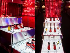 ADIDAS Springblade 'Innovation Lab' pop-up store by Urbantainer, Seoul