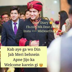 Wo din jaldi a jaye.meri sis k jiju jaldi a jao na Anniversary Message For Boyfriend, Happy Anniversary Quotes, Brother Sister Love Quotes, Love Romantic Poetry, Crazy Friends, Girly Quotes, Dear Future, Dear Diary, Queen Quotes