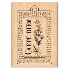 Tampon Souvenirs - Bouquet d'hydrangeas - 8 x 6 cm - Tampon bois - Creavea Carpe Diem, Tampon Scrapbooking, Tampons, Tags, Retro, Illustrations, Block Prints, Souvenir, Creative Crafts