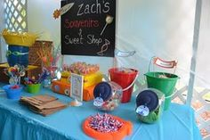 Backyard Birthday Beach Bash