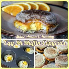 Healthy Egg McMuffins on the go by Selkie~gal