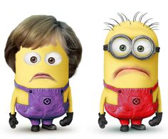 Bundestagswahl 2013 - There's Minions everywhere!