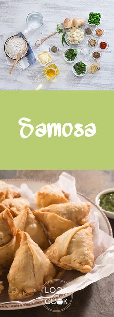PUNJABI SAMOSA RECIPE ( A prevalent Mumbai street food snack is Samosa. The best way to eat it, is to smash it and add two to three varieties of chutney. Easy Samosa Recipes, Pakora Recipes, Chaat Recipe, Empanadas, Samosas, Punjabi Samosa, Trini Food, Look And Cook, Tea Snacks
