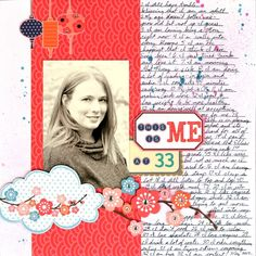 Thoughts of Scrapbooking: My Little Shoebox Aiko layouts