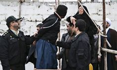 """In Iran, a mother pardons her son's murderer at the gallows: """"Samereh Alinejad spared the life of the man convicted of murdering her son. Bilal will serve a prison sentence instead, according to Iranian media. Picture Editor, Photo Editor, Islam, Ferguson Riot, Gallows, Parenting Teens, The Guardian, New Image, Human Rights"""