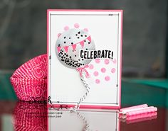 Crush On Colour: Get yo' birthday on! Celebrate Today. (Stampin' Up Occasions 2015 birthday card)