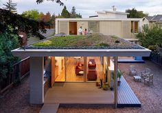 Green roof // Feldman Architecture