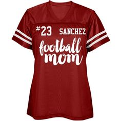 Sanchez Mother | Wonderful football jersey for a proud Mother. Excellent quality and awesome look!