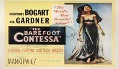 O filme inicia-se com o funeral de Maria Vargas (Ava Gardner), atriz belíssima e de carreira rápida.