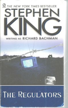 Stephen King Richard Bachman Regulators 1997 Paper Back Book