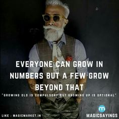 Age is just a number,Grow up #MagicSayings #quote #quotes #inspirational #motivational #motivation #inspiration #mondaymotivation #Sunday