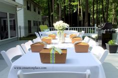 Box Lunch Bridal Shower - On Sutton Place