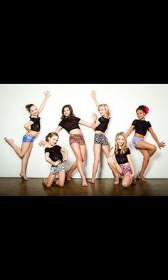 Maddie, Mackenzie, Brooke, Paige, Chloe and Nia!