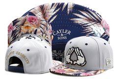 f2c63cd88e2 Hip Hop Men s Cayler Sons Triangle Cap Adjustable Baseball Snapback Hat  Gray Hats For Sale