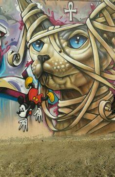 Street Art @ El Gouna / Egypt