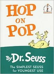 Rhyming Activity (from BrainPop) - Select a book by Seuss, such as Hop on Pop. Have pairs or small groups work together to create book in the same style. They can follow the same rhyme scheme, patterns, and sentence structure. You may wish to go through a few examples. Then have students create their books and illustrate them. Encourage them to make up their own words to finish the rhyme or come up with their own imaginary creatures to feature in their illustrations. -  Pinned by @PediaStaff