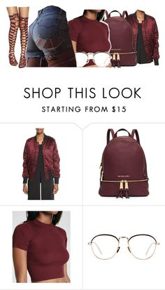 """Untitled #2293"" by kayla77johnson ❤ liked on Polyvore featuring Kendall + Kylie, MICHAEL Michael Kors and Linda Farrow"