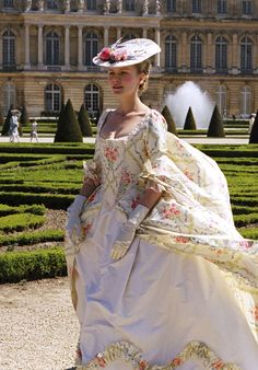 Kirsten Dunst as Marie Antoinette. I love how inspirational this movie is for costumes! So many stunning gowns and accessories.