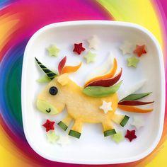 Fruit unicorn by m i c h a e l a (@cutechichai)