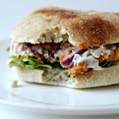 Sweet Potato Burgers with Chipotle