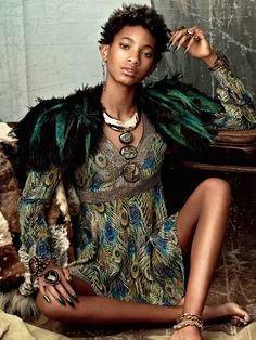 Willow Smith for Issue 6 of CR Fashion Book