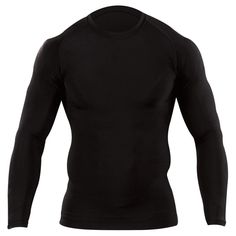 The Tight Crew Long Sleeve Shirt from Tactical® is built from a poly/spandex blend to provide a compressed fit for maximum performance in any environment. FEATURES AND BENEFITS Anti-microbial technology inhibits the growth of odor-causing bacte Tactical Shirt, Tactical Clothing, Tactical Life, Tactical Gear, Black Long Sleeve Shirt, Long Sleeve Shirts, Workout Wear, Workout Shirts, Christmas Tee Shirts