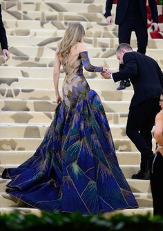 Wedding Dresses Lace Strapless Gigi Hadid in Versace at the 2018 Met Gala.Wedding Dresses Lace Strapless Gigi Hadid in Versace at the 2018 Met Gala Gala Gowns, Gala Dresses, Wedding Dresses, Evening Dresses, Lace Wedding, Fantasy Wedding, Gown Wedding, Mermaid Wedding, Summer Wedding