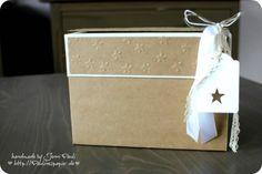 Stationary Box oder Kartenbox mit Anleitung