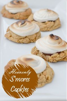 These heavenly s'mores cookies are a perfect cookie swap recipe. They're fun to make, and they taste amazing! Look no further for your next cookie baking project! Time to #ShareTheHoliday (ad)