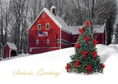(via Country Christmas / Magical Christmas in the country!)