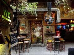 Szimpla Kert, the oldest Ruin Pub in Budapest, is a MUST. Szimpla is a good bet almost any night.    Address: Kazinczy utca 14  Location: Pest, District 7