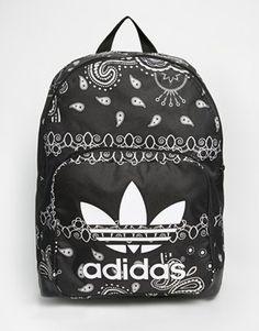 c357b2ed05a5 adidas Originals Paisley Print Backpack Adidas Originals