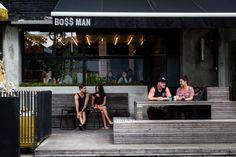 boss man, bali, food, burger