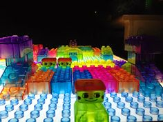 Light table legos aka alex prism bricks