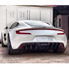 Aggressive Aston Martin One-77